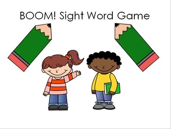 Boom!  Sight Word Game