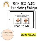 Boom Task Card: Not Hurting Feelings!