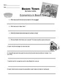 Boom Town Economics Comprehension Questions