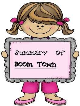 Boom Town Grammar and Writing Notebook