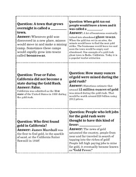 Boom Town Reading Comprehension Game