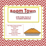 Boom Town:  Sentence or Fragment