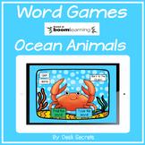 Boom Cards Ocean Animals