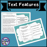Boom cards Nonfiction text features TEI VA SOL