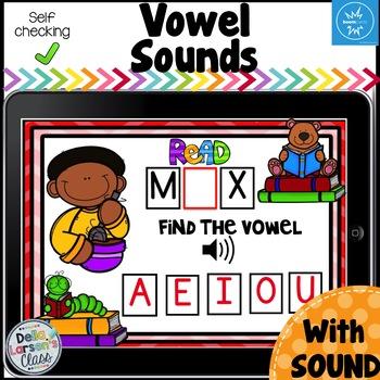Boom cards Vowel Sounds