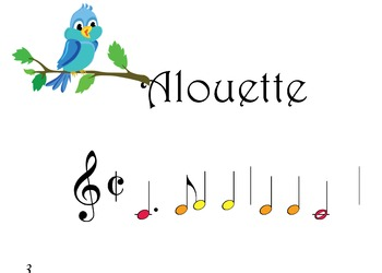 BoomWHACKERS Alouette, Canadian folk song
