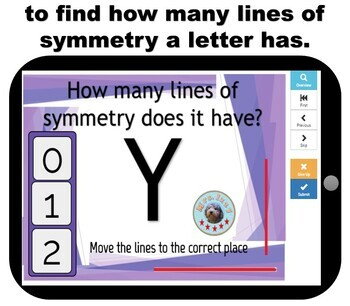Boomcards- Lines of Symmetry- Boom Cards