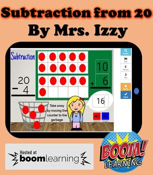 Boomcards- Subtraction from 20- Boom  Cards