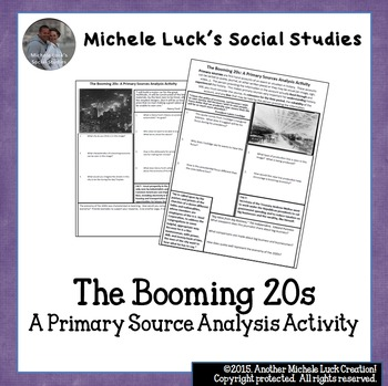 1920s Social Changes Worksheets Teaching Resources TpT