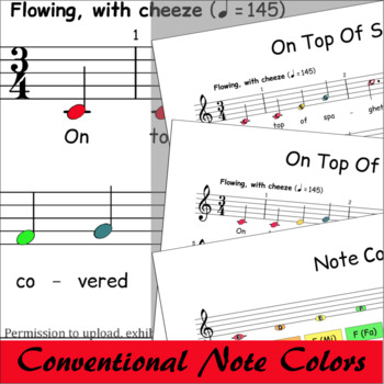 On Top Of Spaghetti - Boomwhackers® Sheet Music