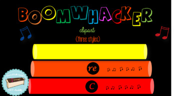 Boomwhacker Clipart