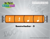 Boomwhackers Color-Coded -  Orange D plays on beats 3 and 4