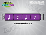 Boomwhackers Color-Coded Purple (A) plays on beats one and three