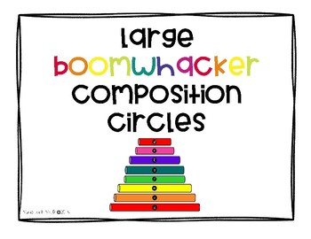 Boomwhacker Composition Circles-Large