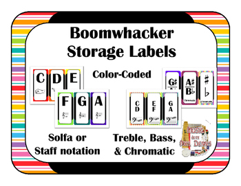 Boomwhacker Label Pack
