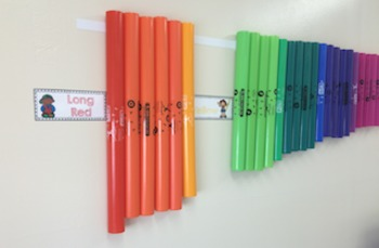 Boomwhacker Labels