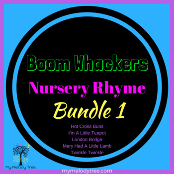 Boomwhacker Nursery Rhyme Bundle 1