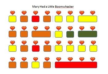 Boomwhacker Song Collection #1 with Heart Beats