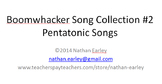 Boomwhacker Songs Collection #2 - Pentatonic Songs