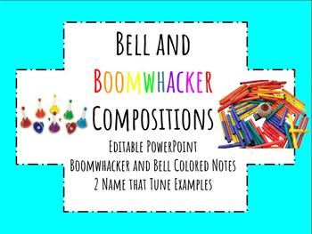 Boomwhacker and Bell Composition Smartboard Activity