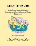 Boomwhacker and Orff Instruments Arrangement, grades 1-5