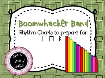 Boomwhacker band -- reading practice charts preparing for ta titi rest