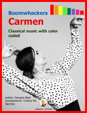 Boomwhackers Carmen: Classical music with color coded