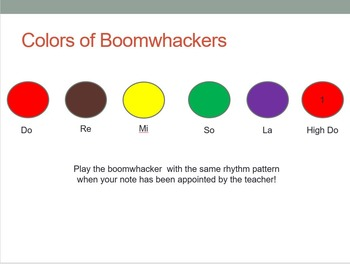 Boomwhackers (Pentatonic Scale - Do Re Mi So La)