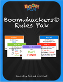 "Boomwhackers Rules Boomwhackers® Rules ""Pak"" – for Bulletin or Smart Board"