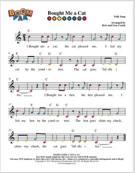 """Boomwhackers® Sheet Music """"BIG BOOK"""" – (over 60 songs)"""