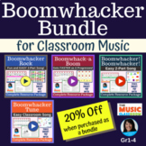 EASY Boomwhackers Song Bundle with Play Along Videos: 4 Or