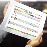 Boomwhackers® Tubes Sheet Music: Jingle Bells - Interactive PDF