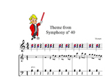 Boomwhackers  easy Mozart theme from symphony nº40,and pia