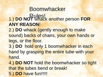 Boomwhacker/solfege Warm Ups