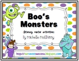 Boo's Monsters {10 Literacy Centers} FREEBIE