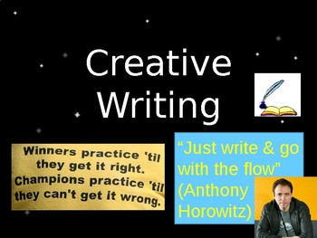 Boost your creative writing skills
