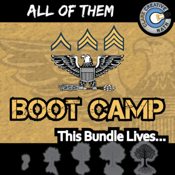 Boot Camp - ALL OF THEM - Gr 3-12 - Practice Sets - Distance Learning Compatible