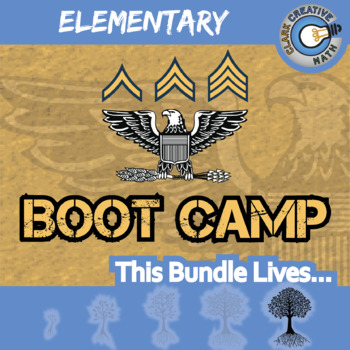 Boot Camp -- ELEMENTARY BUNDLE -- 6 Differentiated Practice Sets!