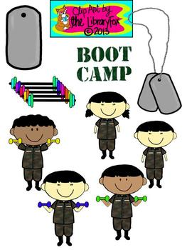 Boot Camp Kids for Personal or Commercial Use