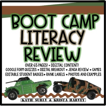 Boot Camp Literacy Review: Great for Test Prep!