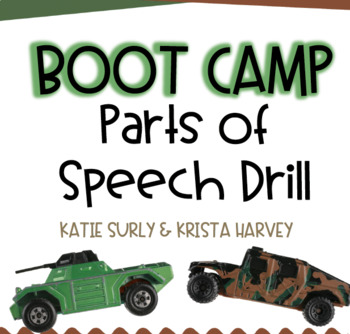 Boot Camp Parts of Speech Drill