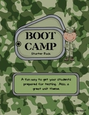 Boot Camp Starter Pack: Unit or Test Prep Theme