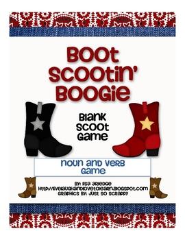 Boot Scootin' Boogie--Noun and Verb