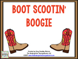 Boot Scootin Boogy Country Music Math And Literacy Centers