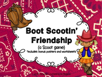 Boot Scootin' Friendship (A Friendship Scoot Game)