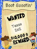Boot Scootin' Texas 2x2 Titles