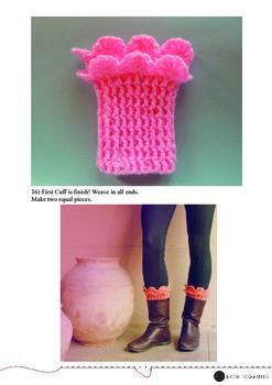 Boot Topper Crochet Knitting Tutorial- For Beginners- Art Class, Creative & Fun!