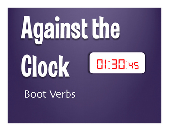 Spanish Boot Verb Against the Clock