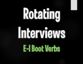 Spanish E-I Boot Verb Rotating Interviews