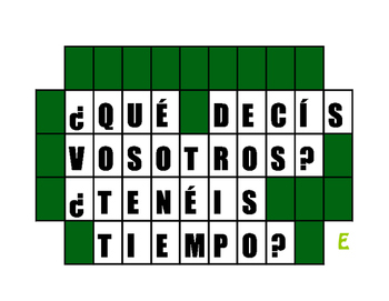 Spanish E-I Boot Verb Wheel of Spanish